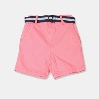 THE CHILDREN'S PLACE Boys Solid Shorts with Belt