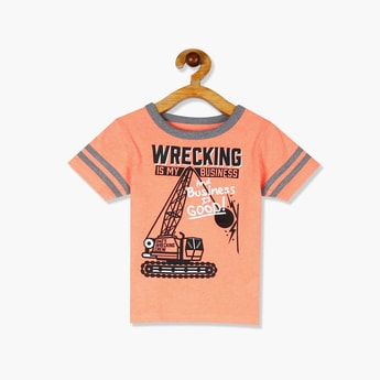THE CHILDREN'S PLACE Boys Printed Crew Neck T-shirt