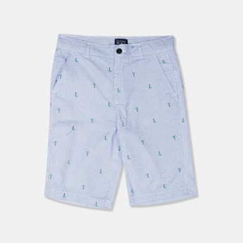 THE CHILDREN'S PLACE Boys Printed Regular Fit City Shorts