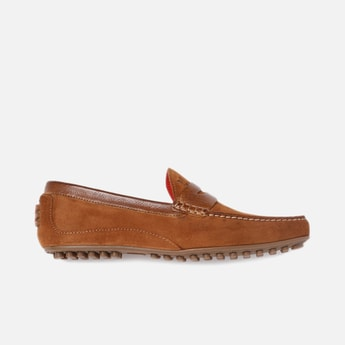 V8 by RUOSH Men Suede Penny Loafers
