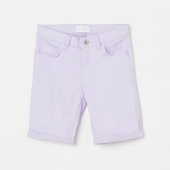 THE CHILDREN'S PLACE Girls Solid Denim Shorts