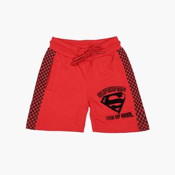 KIDSVILLE Boys Printed Elasticated Shorts