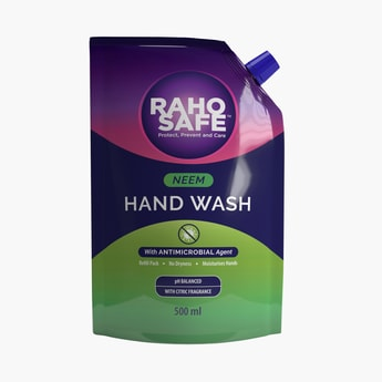 RAHO SAFE Neem Hand Wash Refill Pack