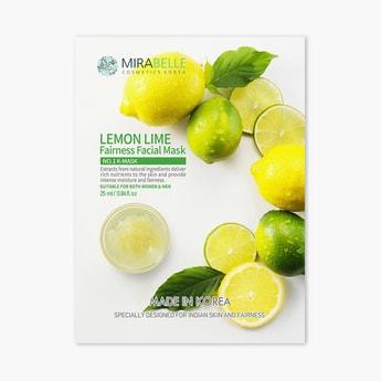 MIRABELLE Korea Fairness Facial Sheet Mask- Lemon