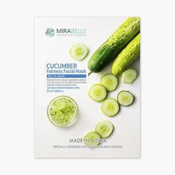 MIRABELLE Korea Fairness Facial Mask- Cucumber