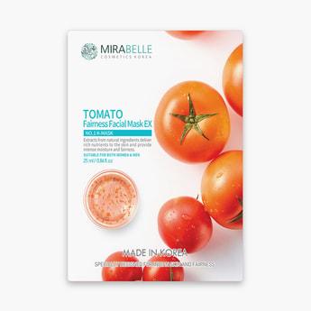 MIRABELLE Korea Fairness Facial Sheet Mask- Tomato
