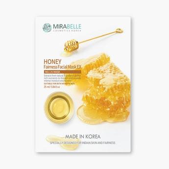 MIRABELLE Korea Fairness Facial Sheet Mask- Honey