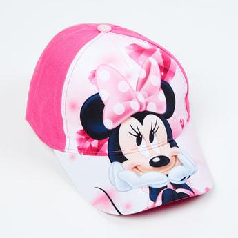 KIDSVILLE Girls Minnie Mouse Print Baseball Cap