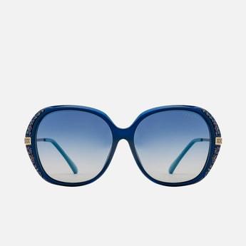 FEMINA FLAUNT Women Embellished Oversized Polarized Sunglasses-9005-C2