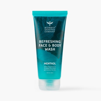 BOMBAY SHAVING COMPANY Menthol Refreshing Face & Body Wash - 200ml