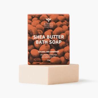 BOMBAY SHAVING COMPANY Shea Butter Bath Soap-125 gm