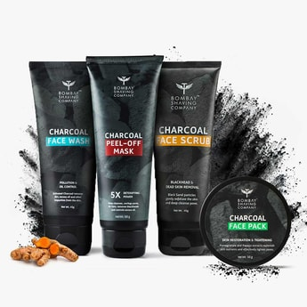 BOMBAY SHAVING COMPANY Charcoal Facial Starter Kit