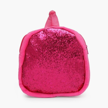 STOLN Girls Sequinned Zip-Closure Backpack