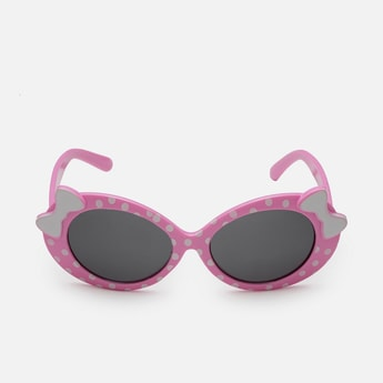 STOLN Girls Printed Bow Detail Sunglasses - LM006-C