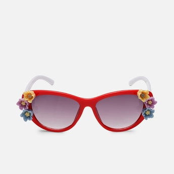 STOLN Girls Embellished Cat-Eye Sunglasses - LM018-A