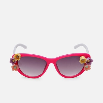 STOLN Girls Embellished Cat-Eye Sunglasses - LM018-B