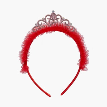 STOLN Girls Sequinned Tiara Accent Hairband