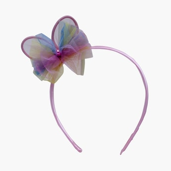STOLN Girls Bow Accent Hairband