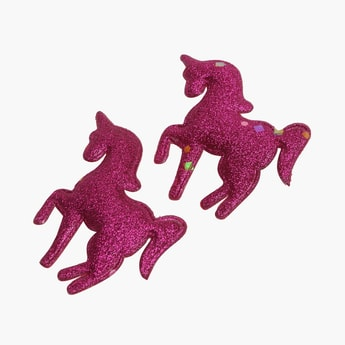 STOLN Girls Unicorn Shape Hair Clip - Set of 2