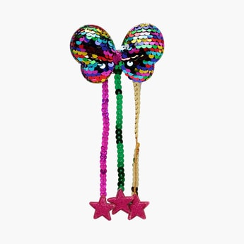 STOLN Girls Sequin Embellished Hair Clip