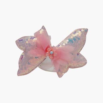 STOLN Girls Bow Embellished Hair Clip