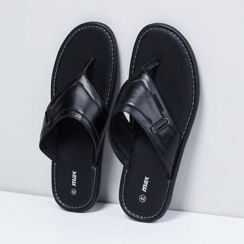 MAX Solid Thong-Style Sandals