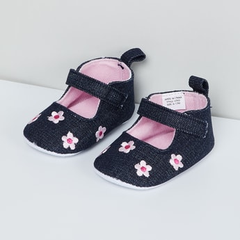 MAX Embroidered Booties