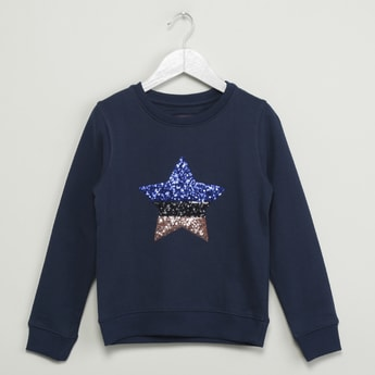 MAX Sequinned Sweatshirt