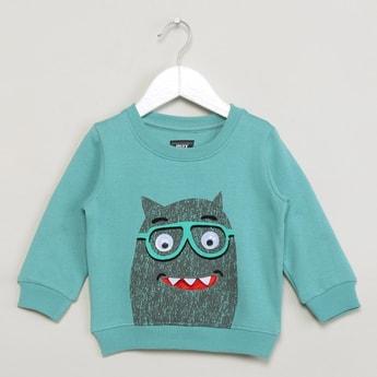 MAX Printed Long Sleeve Sweatshirt