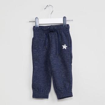 MAX Star Print Speckled Joggers