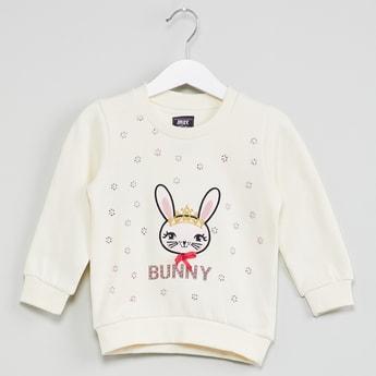 MAX Bunny Applique Sweatshirt