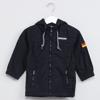 MAX Berlin Print Hooded Jacket