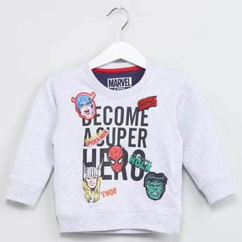 MAX Avengers Print Sweatshirt