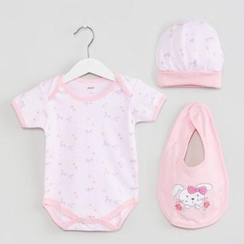 MAX Printed Infant Gift Set - 3 Pcs