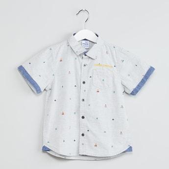 MAX Printed Short Sleeve Shirt