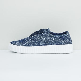 MAX Printed Slip-On Sneakers