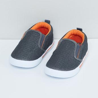 MAX Mesh-Detailing Slip-On Shoes