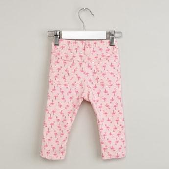 MAX Animal Print Trousers