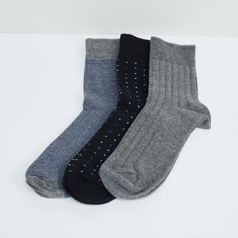 MAX Printed Socks - Set of 3 Pcs.