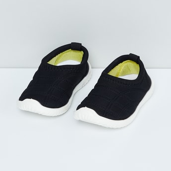 MAX Quilted Detailing Slip-On Shoes