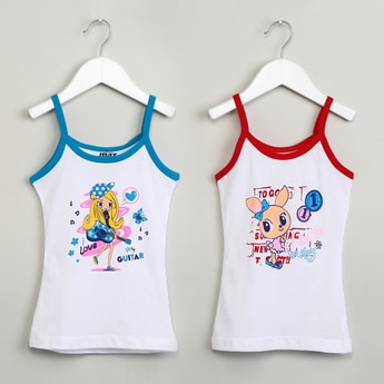 MAX Printed Camisole Vests - 2 Pcs