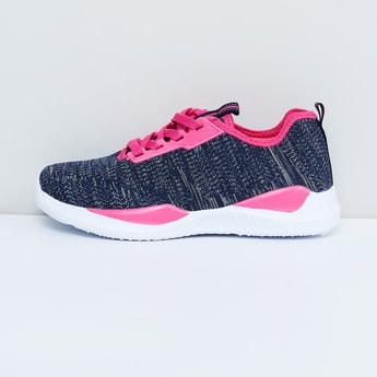 MAX Heathered Lace-Up Sports Shoes
