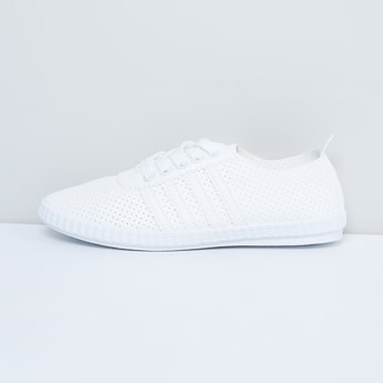 MAX Perforated Lace-Up Shoes