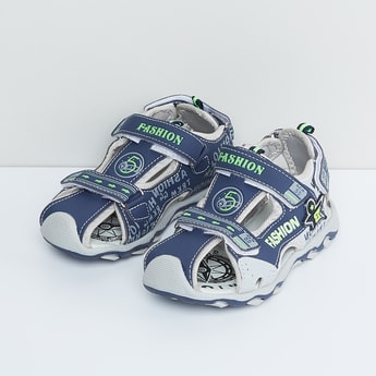 MAX Printed Sandals with Velcro