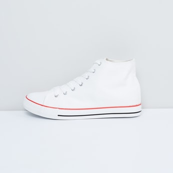 MAX Solid Mid-Top Sneakers