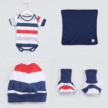 MAX Striped Gift Set - 4 Pcs.