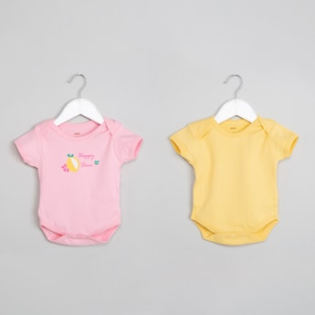 MAX Printed Pack of 2 Rompers