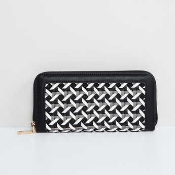 MAX Intertwined Strap Detailed Wallet