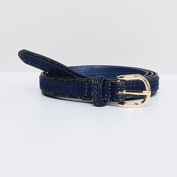 MAX Shimmer Panelled Women's Belt