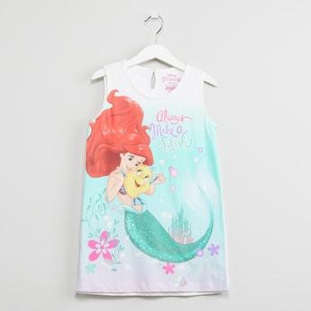 MAX Disney Princess Print Sleeveless Top